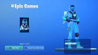 BUYING THE *NEW* BREAKPOINT PACK IN FORTNITE!!! HOW TO GET THE BREAKPOINT PACK RIGHT NOW!!!