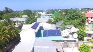 8kW Grid-tied PV system at Gafoor Keveli Cable Net