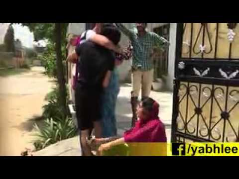 NRI shocks family with surprise visit : very emotional video