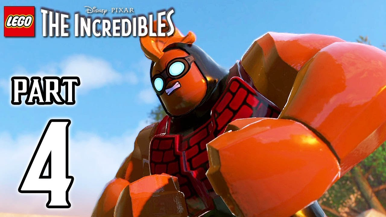 LEGO The Incredibles Walkthrough PART 4 (PS4 Pro) No Commentary @ 1080p HD ✔