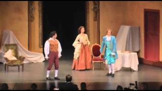 Kreshnik Zhabjaku as Figaro singing Non Piu Andrai