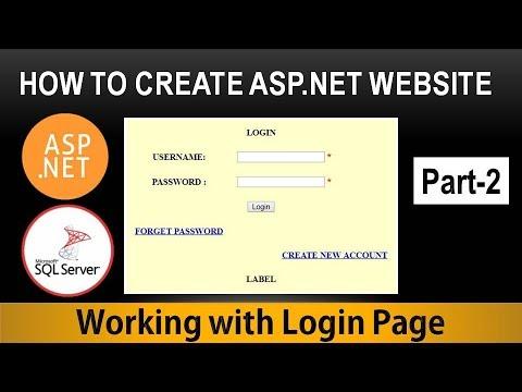 asp net tutorial youtube