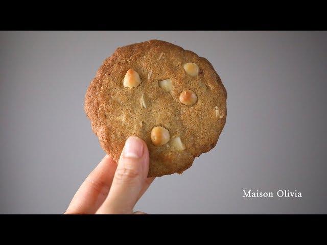 화이트초코 마카다미아 쿠키 (서브웨이 베스트 쿠키, White Chocolate Macadamia Cookies, Subway best cookie)