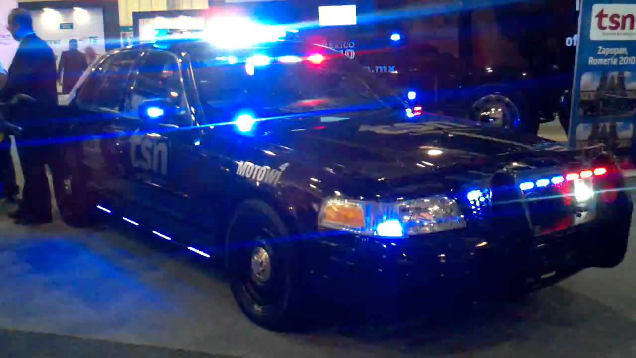 HG2 Emergency Lighting Ford Crown Victoria TSN Demo Vehicle YouTube