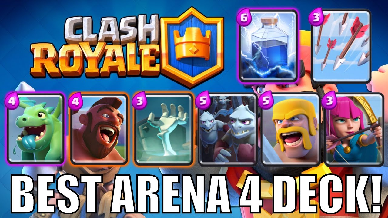 how to get to arena 6 from 5 clash royale
