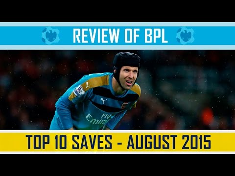 TOP 10 SAVES - August 2015 - English Premier League - HD