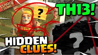 13 Clues You MISSED for Town Hall 13! CoC TH13 Update Sneak Peek (Clash of Clans)