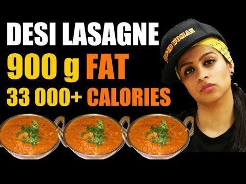 Lasagne - Desi Epic Meal Time