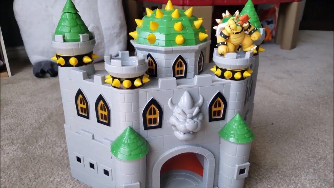 Nintendo Bowser S Castle Super Mario Deluxe Bowser S Castle Playset Unboxing Review