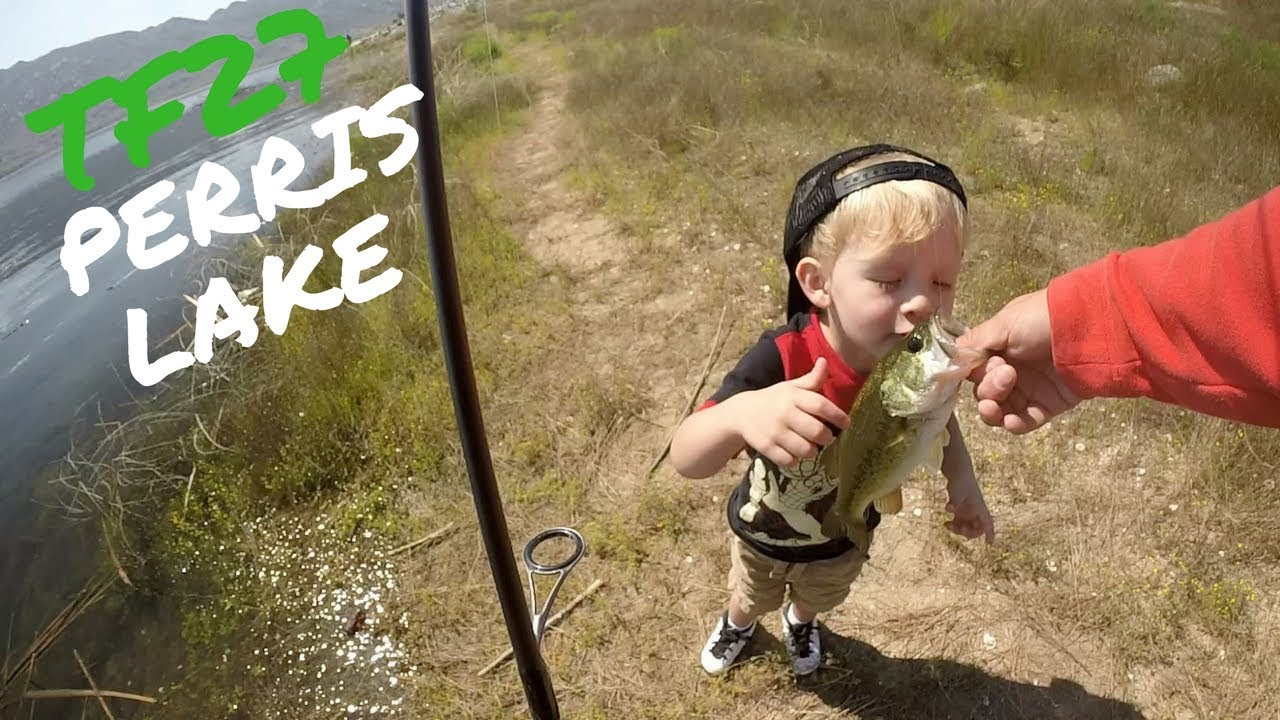 Tf27 perris lake fishing youtube for Lake perris fishing report