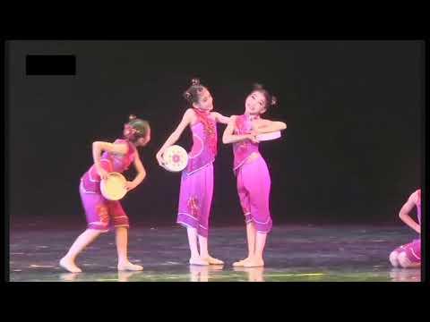 舞蹈之乡~广东省第四届少儿舞蹈大赛D1A~003少儿群舞~钱鼓声声