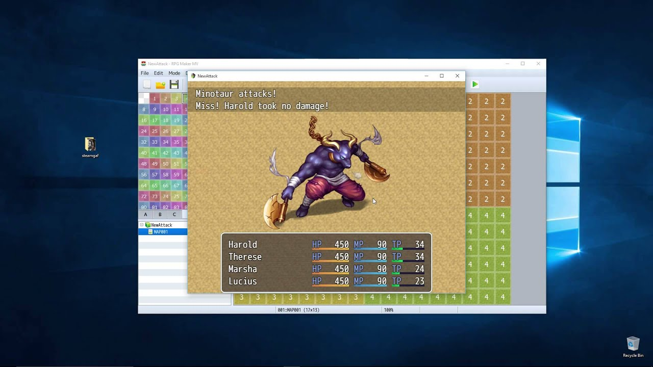 Rpg Maker Mv Combat And Battle Getting Started How To