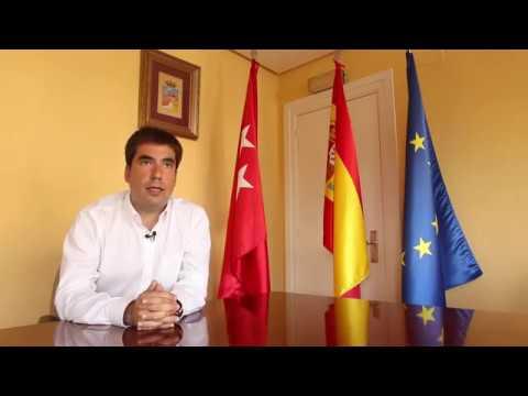El alcalde de Mejorada del Campo, Jorge Capa (PSOE), explica dos proyectos claves para el municipio