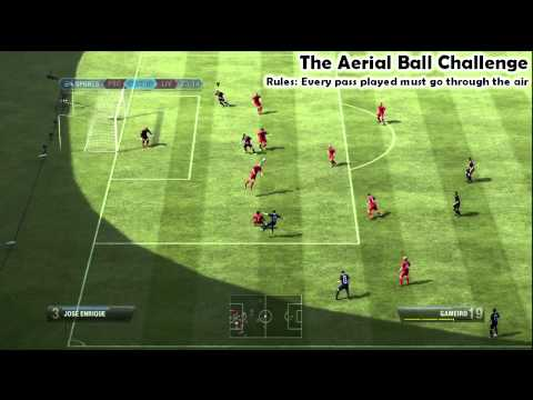 Aerial Ball Challenge | FIFA 12 Manual Controls