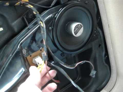 replacing factory speakers in a bmw 740i with mb quarts youtube rh youtube com