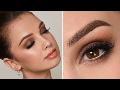 NIGHT OUT / PARTY  Makeup Tutorial | Brown Smokey Eye thumbnail