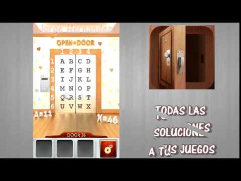 100 doors 2 nivel 36 youtube for 100 doors 2 door 36