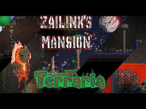 Terraria Zailink's Mansion!!! [Un vistazo a mi antigua mansión]