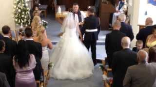Anneliese Walks Down The Aisle (The Piano Guys - A Thousand Years)