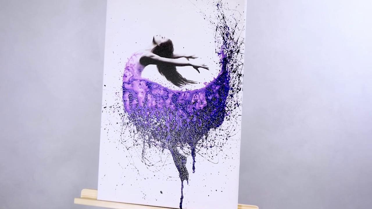 Обои акриловые рисунок брызгами фото