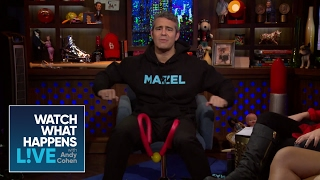 Andy Cohen Acts Crazy During Rehearsal | WWHL