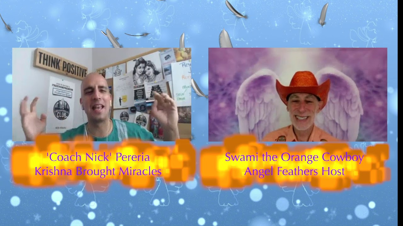 Angel Feathers TV Show #7 Guest Nick Pereria