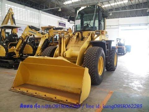 รถตักล้อยาง WA100-3 # 55691 Komatsu wheel loader มือสองจากญี่ปุ่น โทร.0813062283