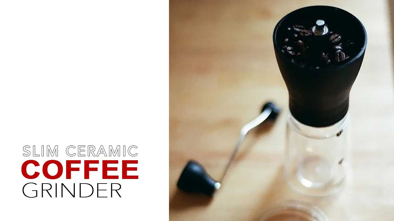 How To Use Hario Coffee Mill Ceramic Slim Youtube Grinder Mss 1b