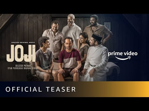 Joji - Official Teaser   Fahadh Faasil, Baburaj, Shammi Thilakan   Amazon Original Movie   April 7