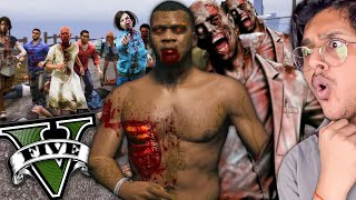 Franklin Becomes ZOMBIE iฑ GTA 5