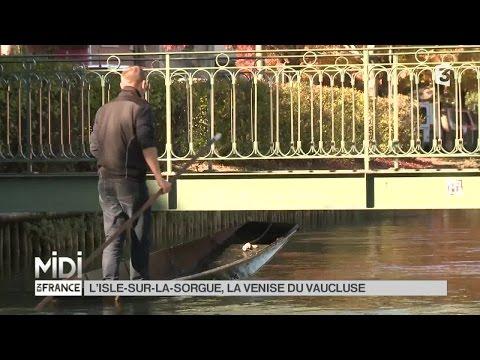 SUIVEZ LE GUIDE : L'Isle-sur-la-Sorgue, la Venise du Vaucluse