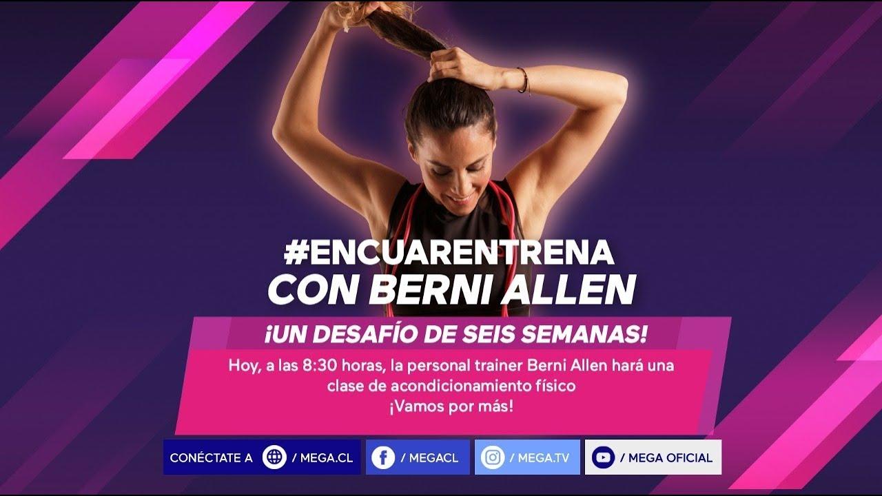 #Encuarentrenate / ¡Un desafío de seis semanas con @berniallen! / Semana 3 - Día 2