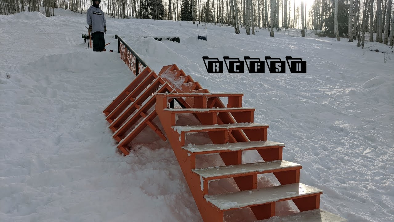 RCFS II | DIY Features at Wasatch Academy Snowpark