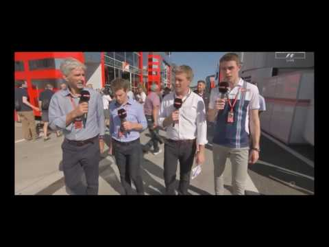 Interview Paul Di Resta Post race Hungary F1 2017