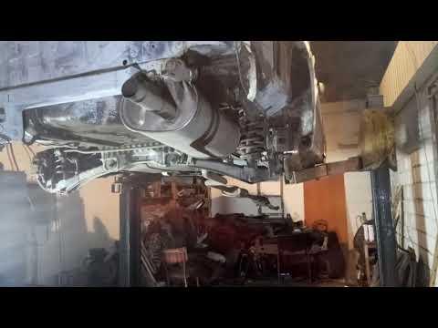 Lancer 9 подготовка к обработке кузова и обработка