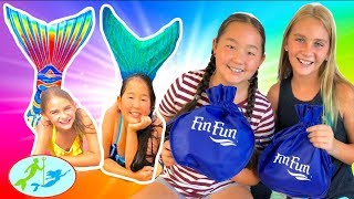 What's in my Bag from the Fin Fun Mermaid Pool Party | Theekholms