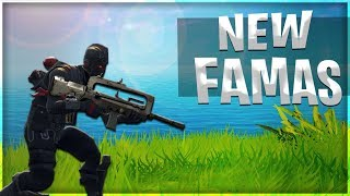 *NEW* LEGENDARY FAMAS BURST COMING TO FORTNITE TOMORROW!