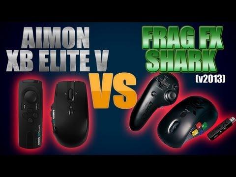 Aimon XB Elite V VS FragFX Shark 360 V2013 MW3 Stay Sharp Review