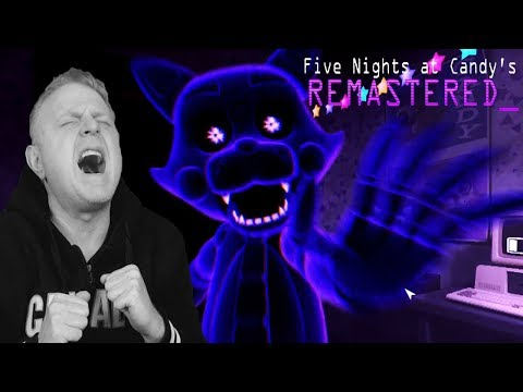 SECRET SHADOW CANDY | FIRST NEW LOOK AT FIVE NIGHTS AT CANDY'S 4 | FNAC REMASTERED | ( FNAF )