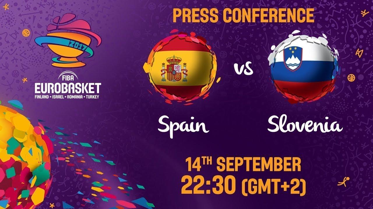Spain v Slovenia - Press Conference