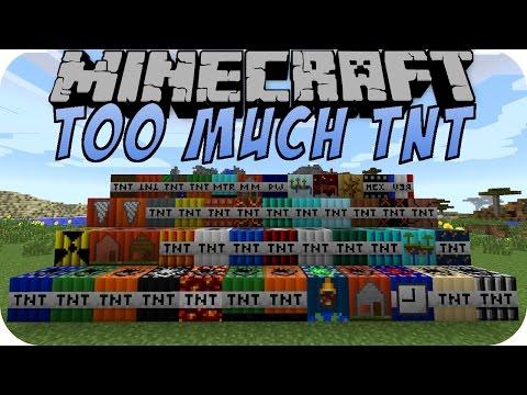 Minecraft TOO MUCH TNT