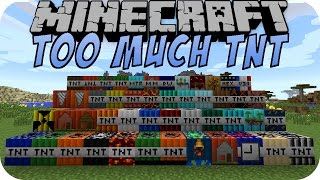 Minecraft TOO MUCH TNT