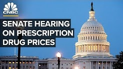 Senate Judiciary Committee holds hearing on prescription drug prices -- May 7, 2019