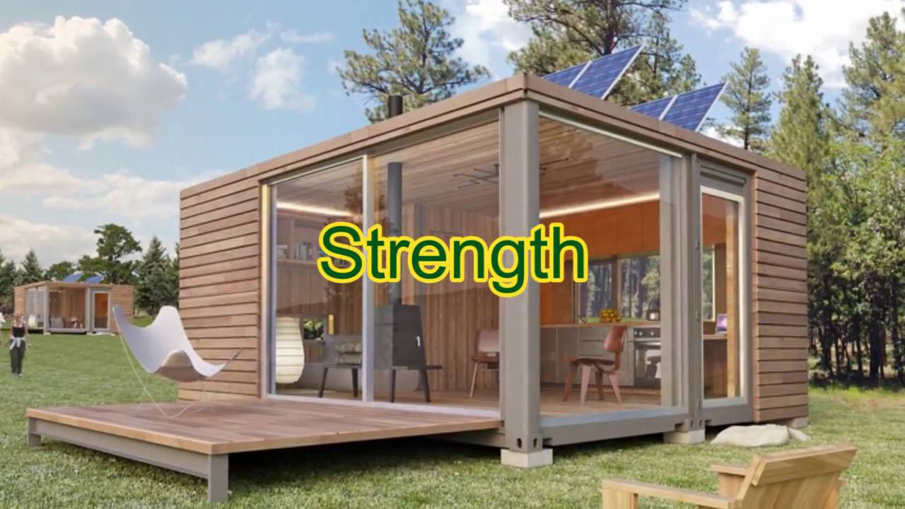 Easy way to build your own Shipping Container Home| Build cargo Container  Home DIY - YouTube