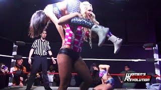 [Free Match] Penelope Ford & Maria Manic vs. Team Sea Stars | Women's Wrestling Revolution (Stardom)