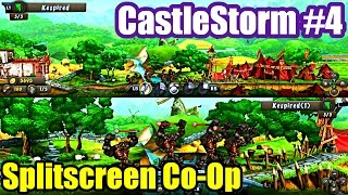 Castlestorm #4 CREEK CROSSING SPLIT-SCREEN COOP (XBox One Gameplay)