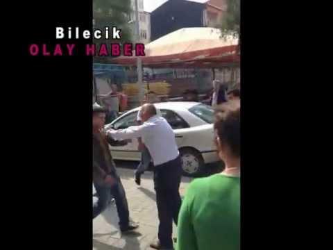 Bilecik'te Askerler Çarşı Ortasında Kavga Etti