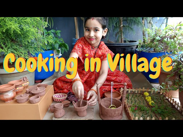 Cooking game in Hindi Part-18 |Cooking at Village |Clay Pot Cooking | Mud Pot Cooking #LearnWithPari