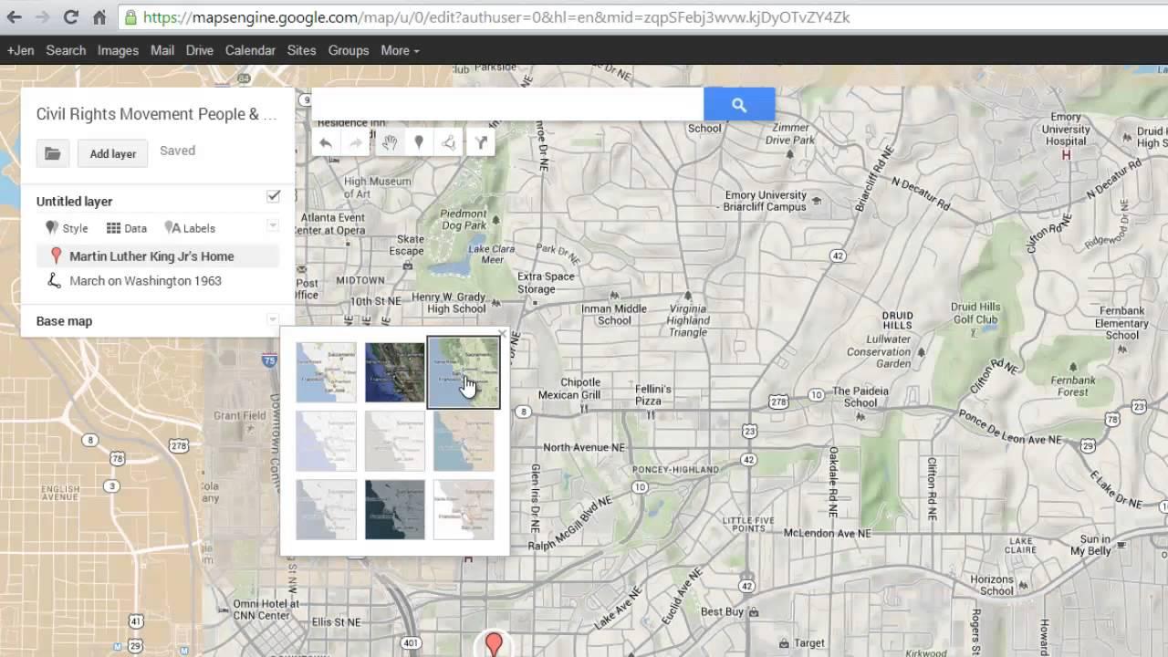 google maps engine lite tutorial youtube. Black Bedroom Furniture Sets. Home Design Ideas
