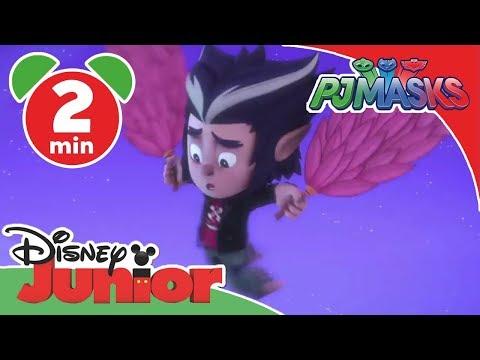 PJ Masks-Pyjamahelden - Clip: Fliegende Wölfies | Disney Junior